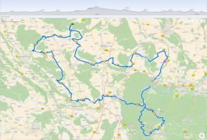 166km RTF