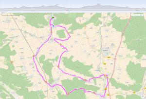 53km-Strecke